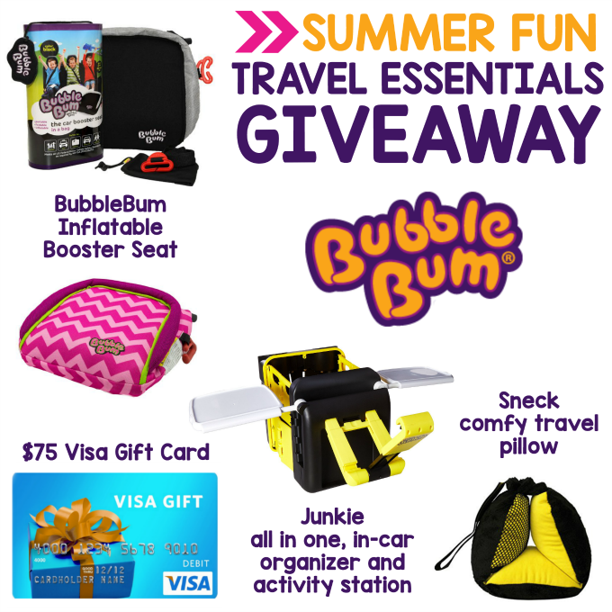 BubbleBum Giveaway