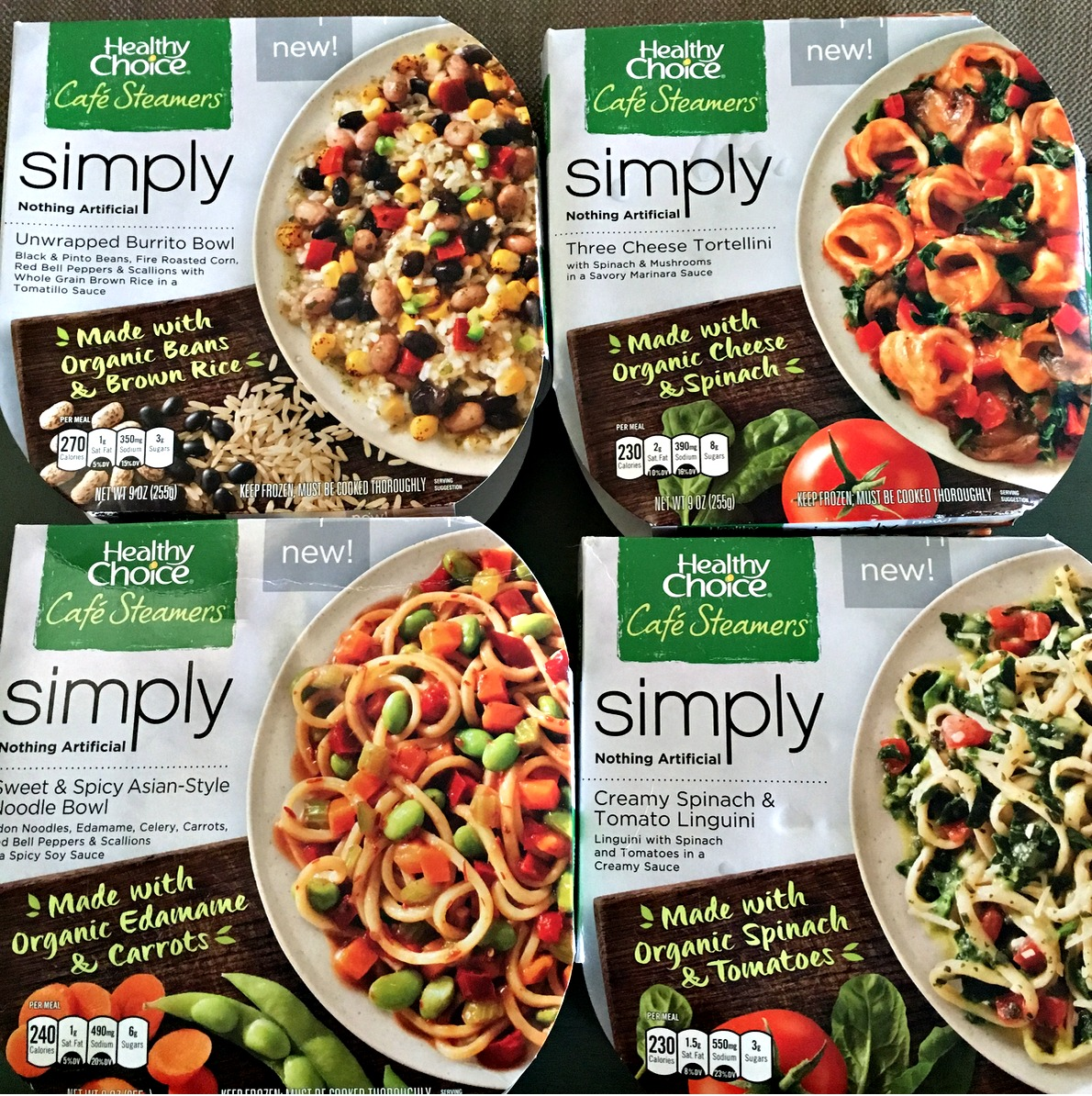 Healthy Choice Organic Meals